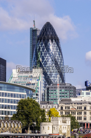 uk london southwark financial district with