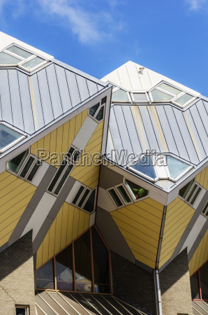 netherlands rotterdam part of cubical house
