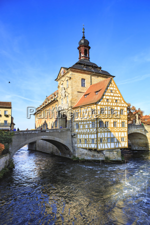 germany bamberg view to the old