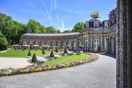 germany bavaria bayreuth eremitage sun temple