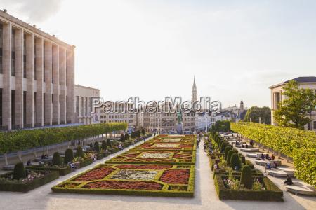 belgium brussels mont des arts park