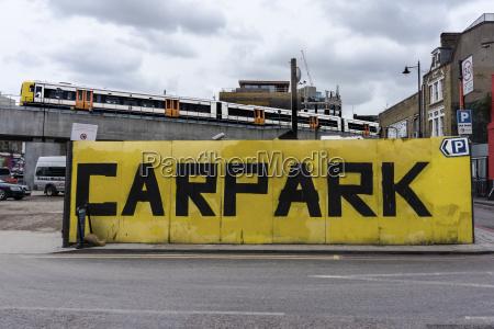 england london shoreditch holywell lane carpark