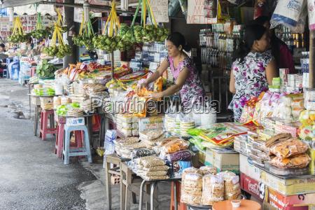 vietnam an giang long xuyen stall