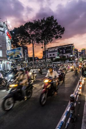 vietnam ho chi minh city motorcycles