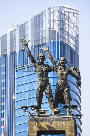 indonesia jakarta selaman datang monument