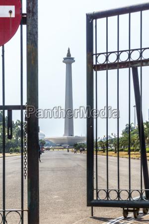 indonesia jakarta merdeka square national monument