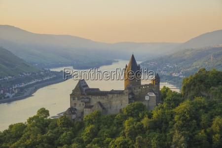 germany rhineland palatinate bacharach stahleck castle