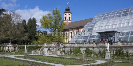 germany baden wuerttemberg mainau castle church