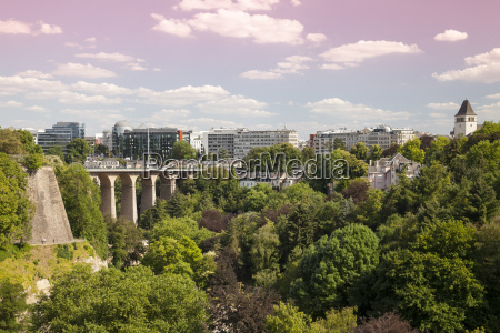 luxembourg luxembourg city city view and