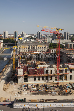 germany berlin construction site of berlin