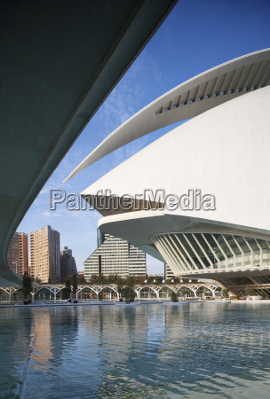 spain valencia ciudad de las artes