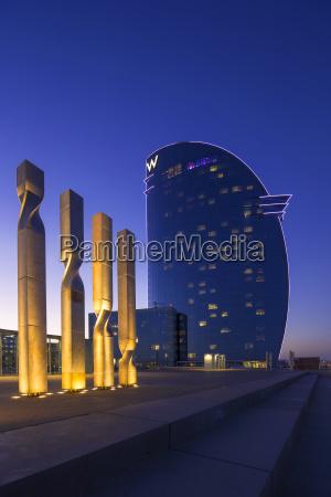 spain barcelona hotel w