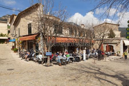spain mallorca old town of valldemossa