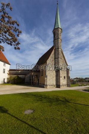 germany bavaria burghausen outer castle chapel