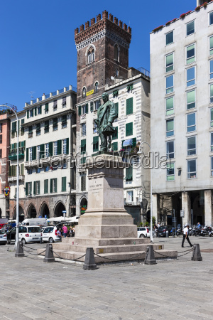 italy genoa raffaele rubattino monument