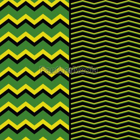 tile zig zag pattern set