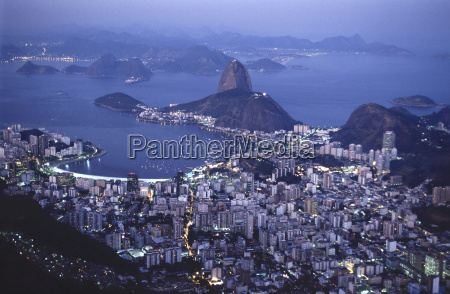 view of rio de janeiro from