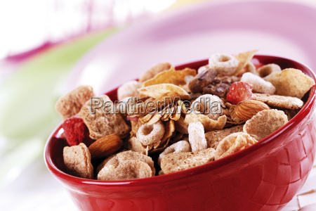 cereals in bowl