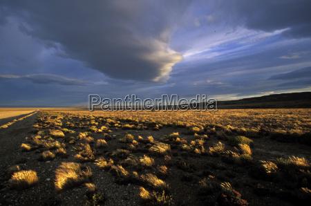 savanne wolke horizontal argentinien outdoor freiluft