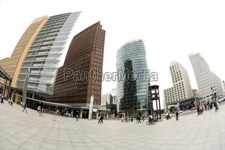 germany berlin potsdamer platz modern buildings