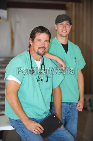usa texas leakey men smiling portrait