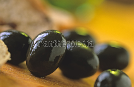 black olives close up
