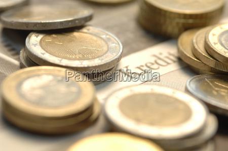 euromuenzen auf wirtschaftsjournal