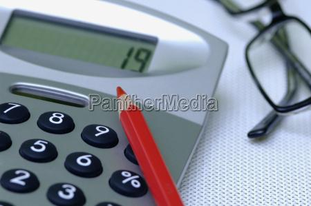 taschenrechner, nahaufnahme - 21167429