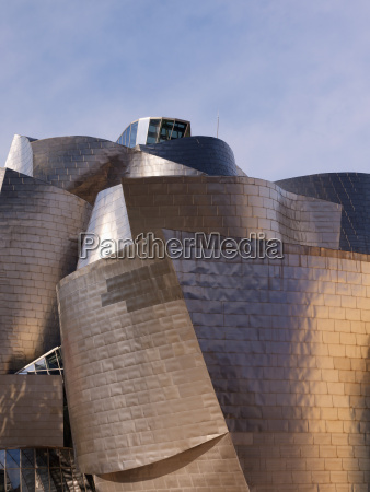spain basque country bilbao view of