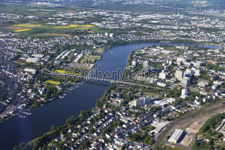 europe germany rhineland palatinate koblenz view