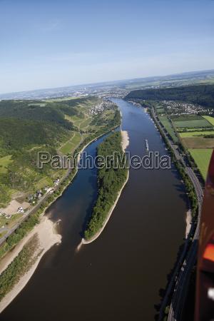 europe germany rhineland palatinate hammerstein aerial