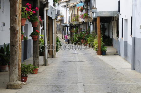 europe spain extremadura guadalupe view of
