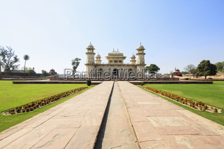 india uttar pradesh agra view of