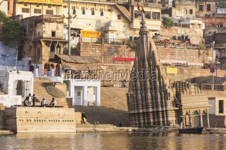 india uttar pradesh banaras view of