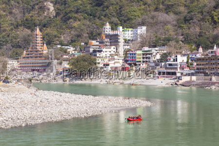 india uttarakhand rishikesh view of swarg