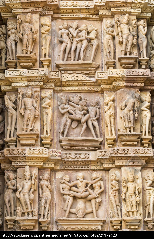 indien, madhya, pradesh, erotische, szene, und, details, im - 21172123