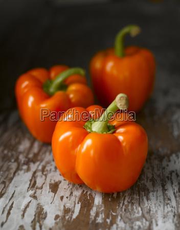 orangefarbene paprika