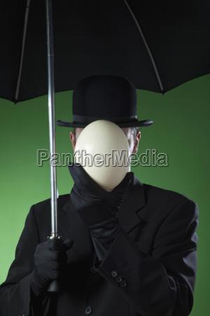businessman man without face