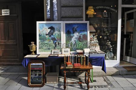 germany bavaria munich antique shop