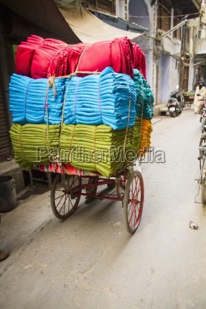 verkehr verkehrswesen indien gefaltet outdoor freiluft