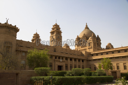 india rajasthan jodhpur view of umaid