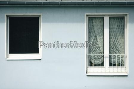 germany duesseldorf house facade windows