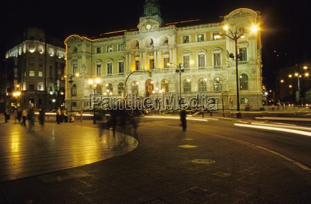 city hall bilbao basque country spain