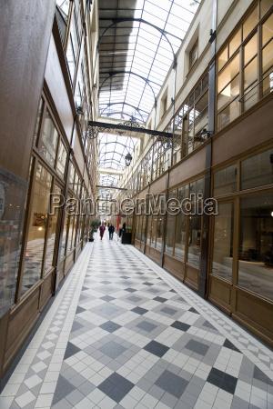 france paris view of the passage