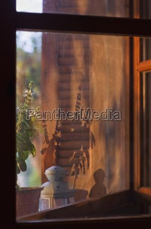 fenster luke glasfenster fensterscheibe griechenland sonnenaufgang