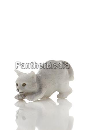 toy plastic cat