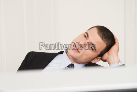 business man close up portrait