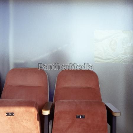 sitze im kino hautnah