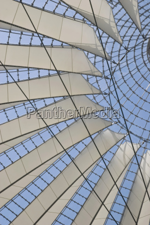germany berlin sony center glass roof