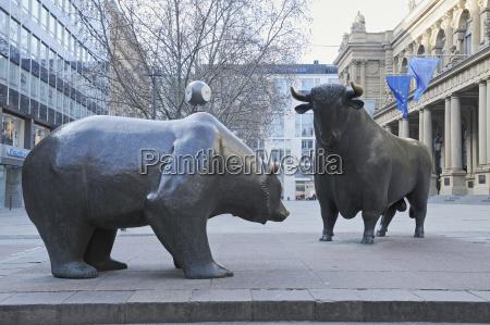 germany frankfurt on the main bull